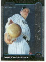 1999 Bowman Chrome #400 Matt Holliday RC
