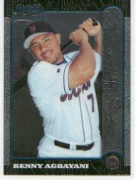 1999 Bowman Chrome #429 Benny Agbayani RC
