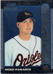 1999 Bowman Chrome #434 Mike Paradis RC