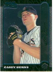 1999 Bowman Chrome #439 Casey Burns RC