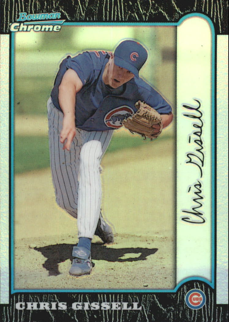 1999 Bowman Chrome Refractors #199 Chris Gissell