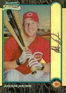 1999 Bowman Chrome Refractors #369 Adam Dunn