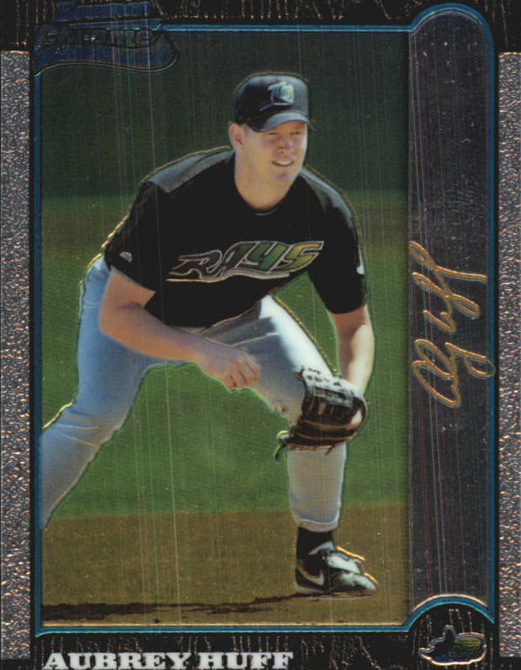 1999 Bowman Chrome Gold #426 Aubrey Huff