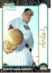 1999 Bowman Chrome Gold Refractors #400 Matt Holliday