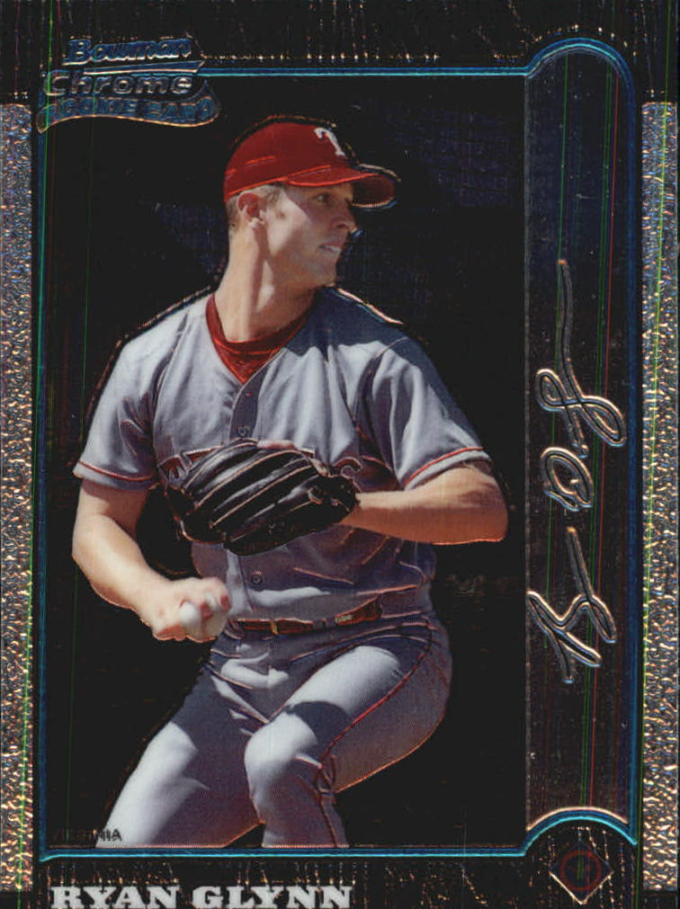 1999 Bowman Chrome International #182 Ryan Glynn