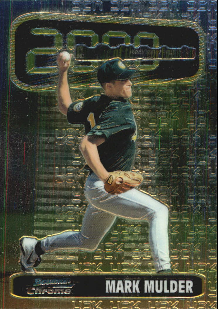 1999 Bowman Chrome 2000 ROY Favorites #ROY7 Mark Mulder