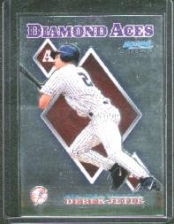 1999 Bowman Chrome Diamond Aces #DA13 Derek Jeter