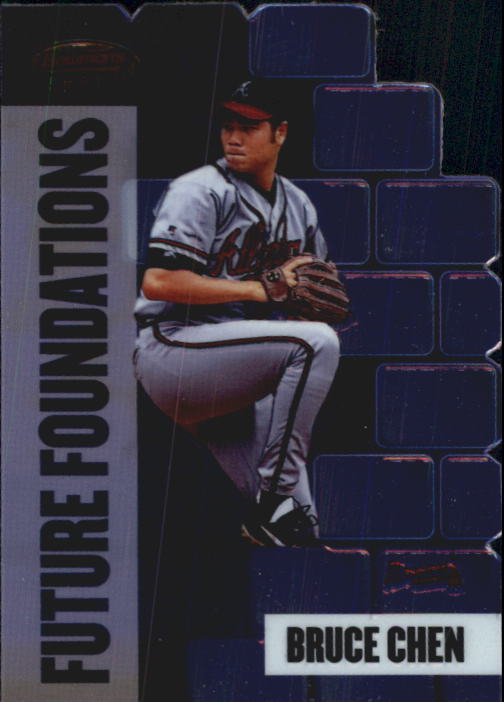 1999 Bowman's Best Future Foundations Mach I #FF10 Bruce Chen
