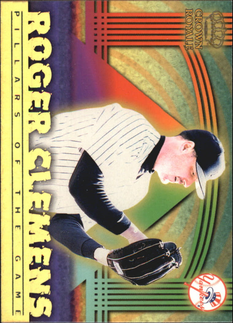 1999 Crown Royale Pillars of the Game #14 Roger Clemens