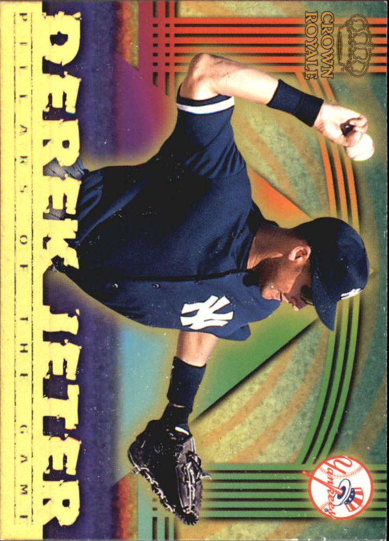 1999 Crown Royale Pillars of the Game #15 Derek Jeter