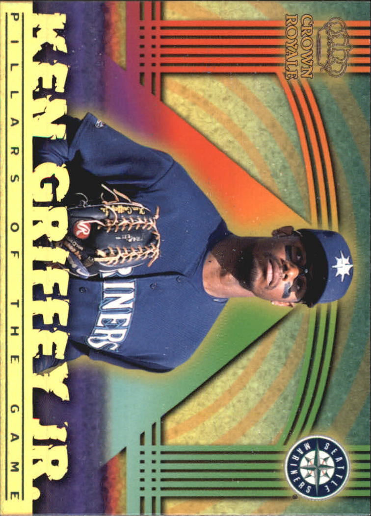 1999 Crown Royale Pillars of the Game #22 Ken Griffey Jr. front image