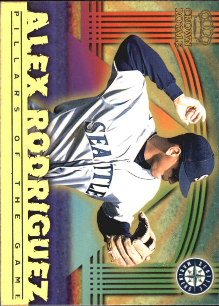 1999 Crown Royale Pillars of the Game #23 Alex Rodriguez