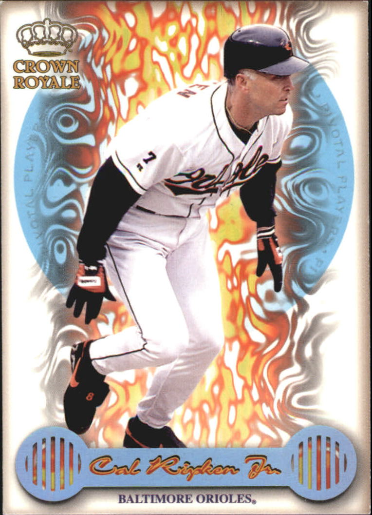 1999 Crown Royale Pivotal Players #5 Cal Ripken front image