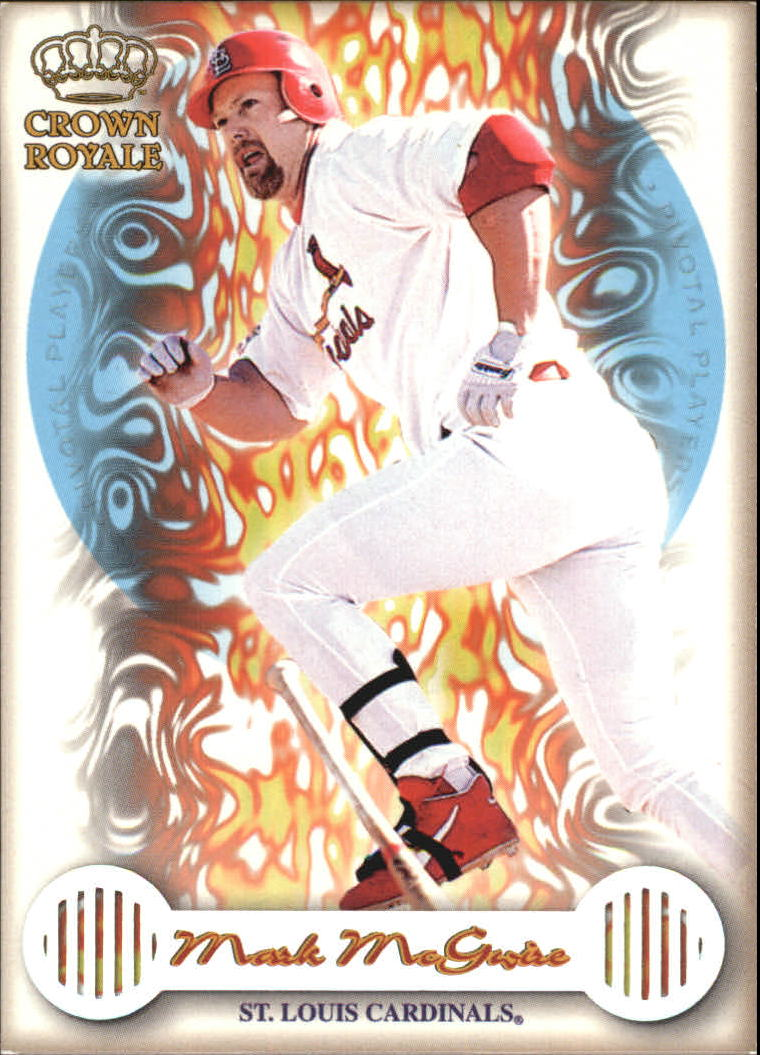 1999 Crown Royale Pivotal Players #20 Mark McGwire