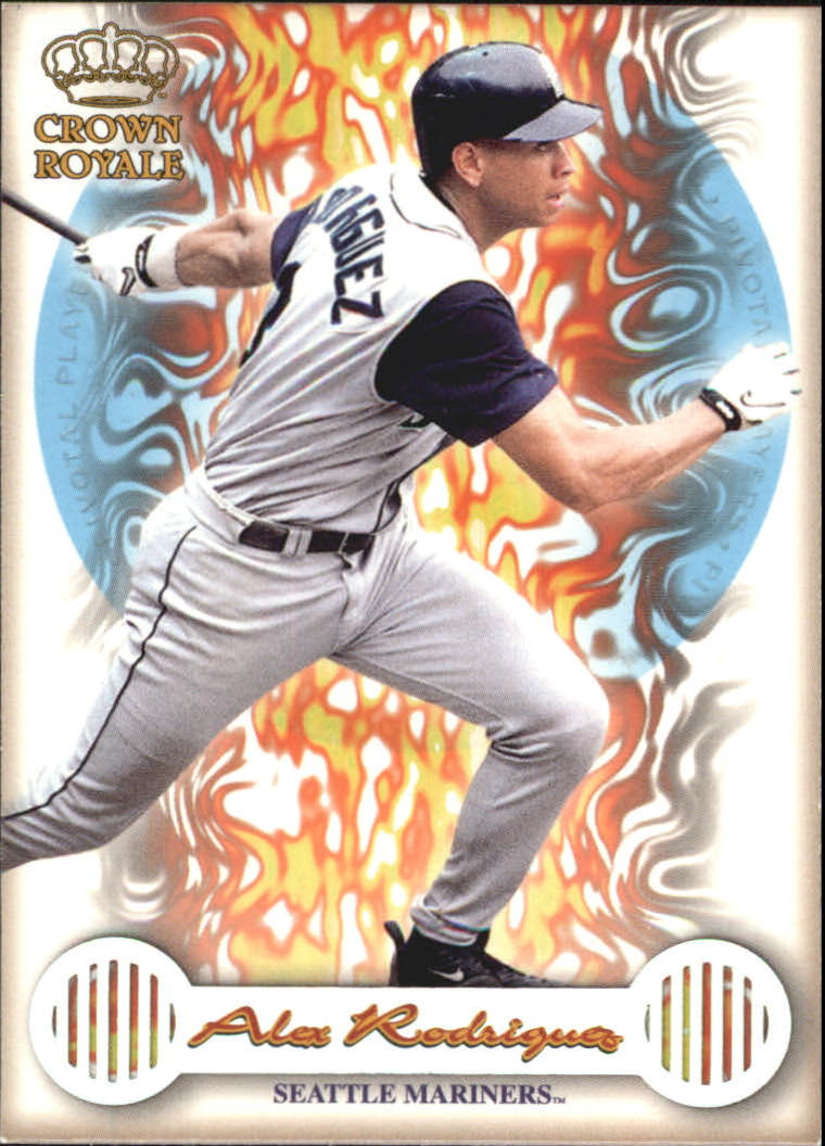 1999 Crown Royale Pivotal Players #23 Alex Rodriguez