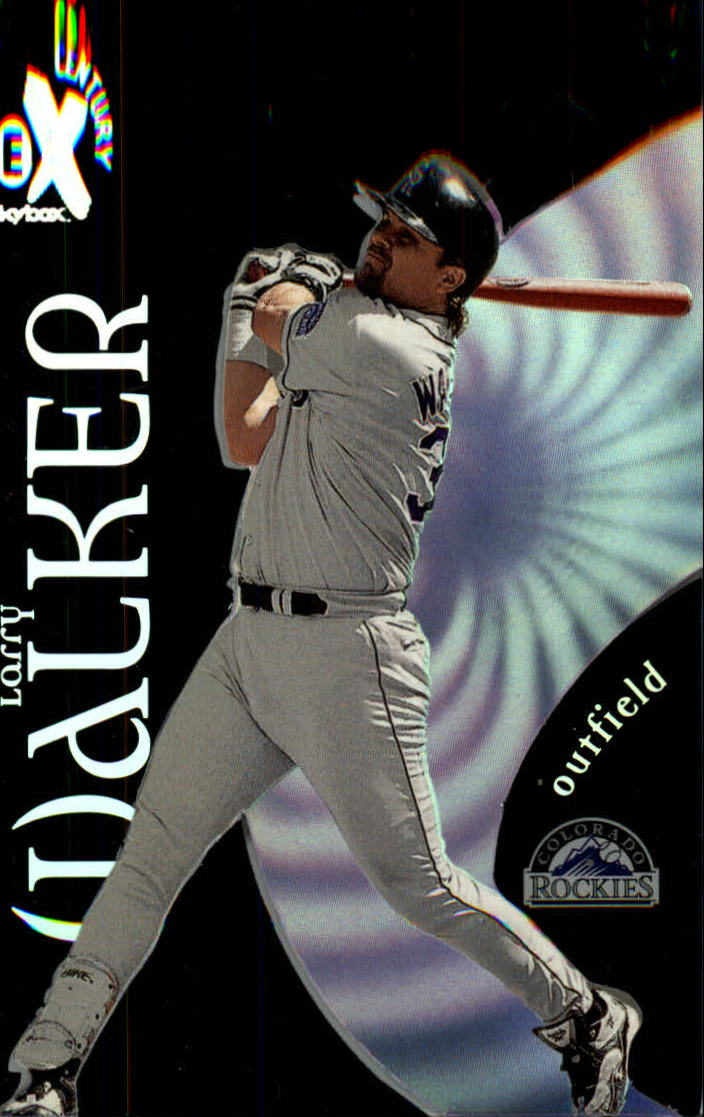 1999 E-X Century #26 Larry Walker