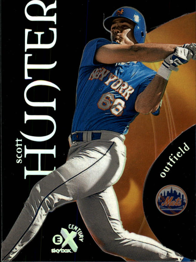 1999 E-X Century #97 Scott Hunter SP RC