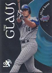 1999 E-X Century #101 Troy Glaus SP