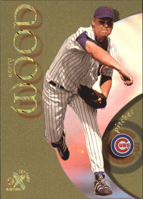 1999 E-X Century Essential Credentials Future #10 Kerry Wood/111