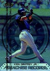 1999 Finest Franchise Records #FR2 Ken Griffey Jr. front image
