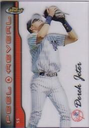 1999 Finest Peel and Reveal Stadium Stars #7 Derek Jeter