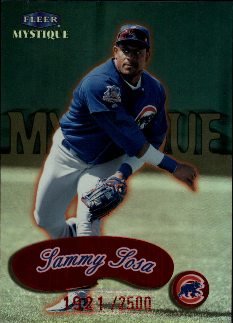 1999 Fleer Mystique #153 Sammy Sosa STAR