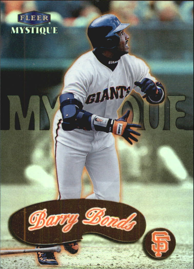 1999 Fleer Mystique Gold #78 Barry Bonds