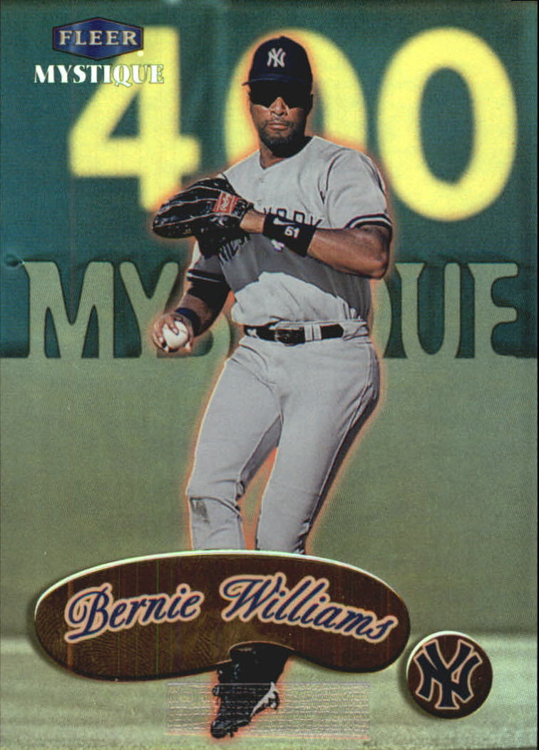 1999 Fleer Mystique Gold #85 Bernie Williams