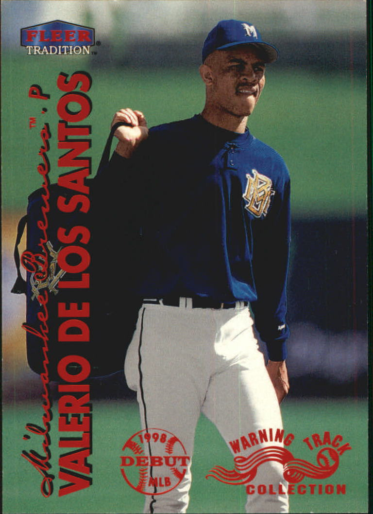 1999 Fleer Tradition Warning Track #329 Valerio De Los Santos