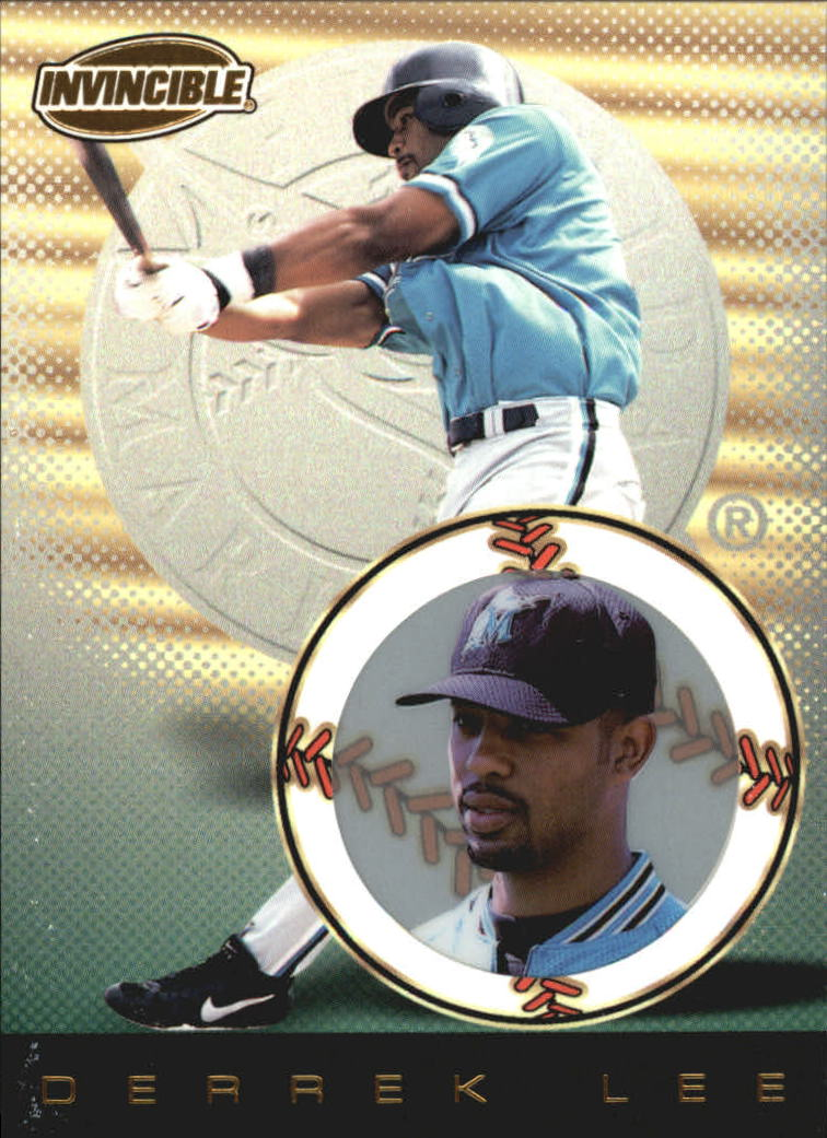 1999 Pacific Invincible #62 Derrek Lee