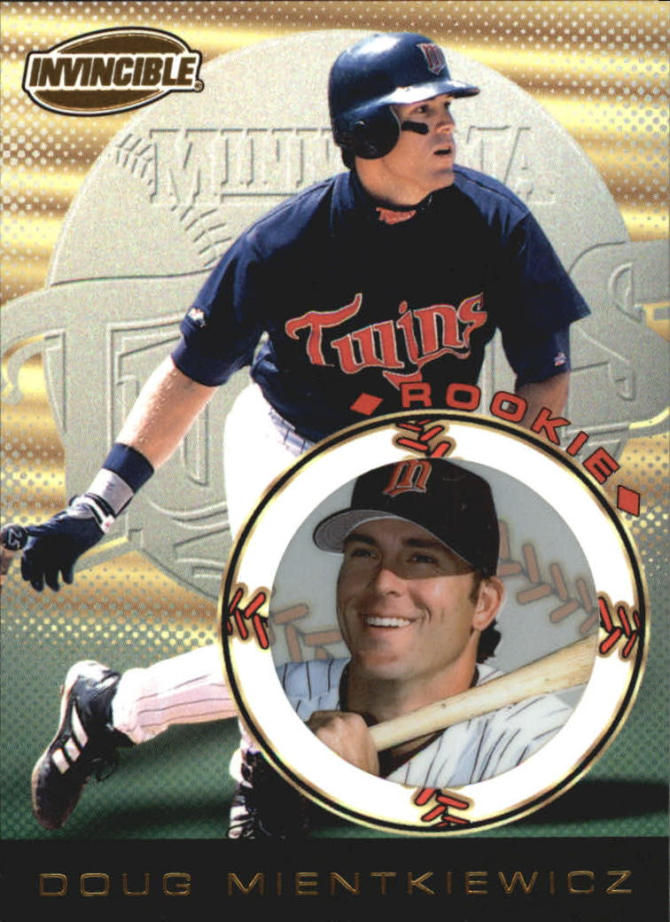 1999 Pacific Invincible #88 Doug Mientkiewicz RC