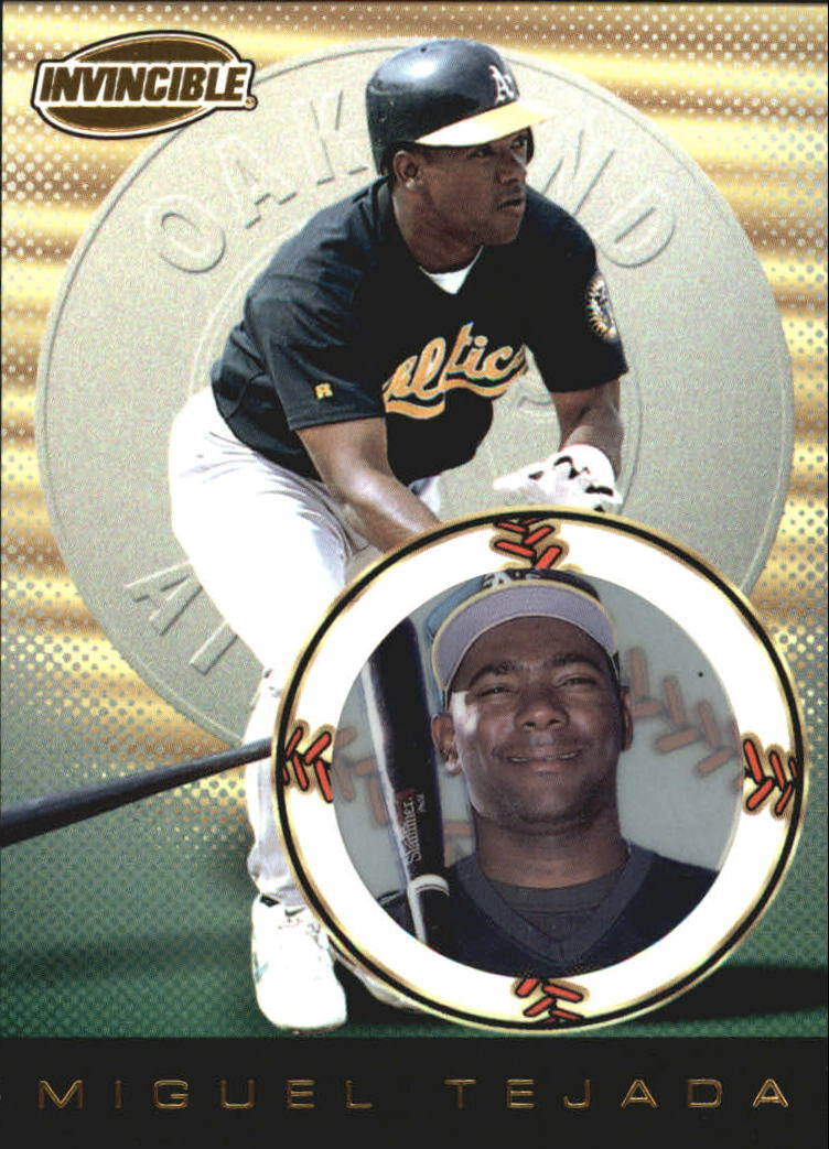 1999 Pacific Invincible #109 Miguel Tejada