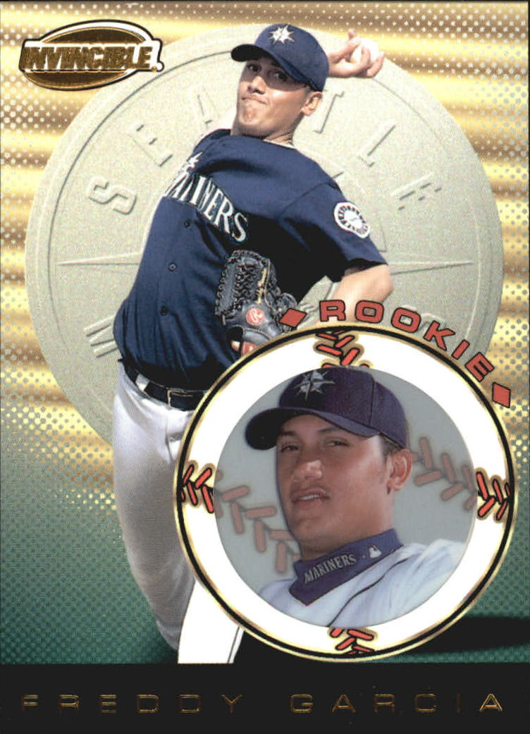1999 Pacific Invincible #132 Freddy Garcia RC