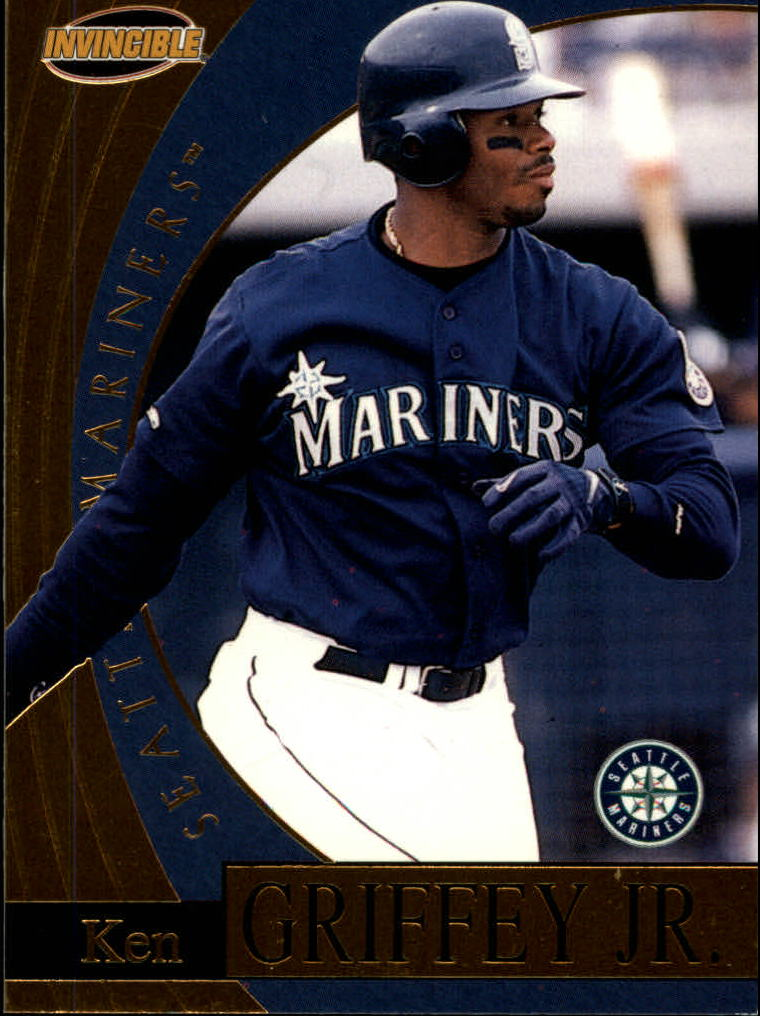 1999 Pacific Invincible Flash Point #18 Ken Griffey Jr.