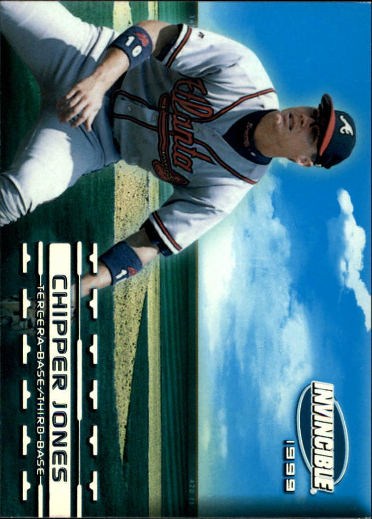1999 Pacific Invincible Sandlot Heroes #2 Chipper Jones Wearing Cap