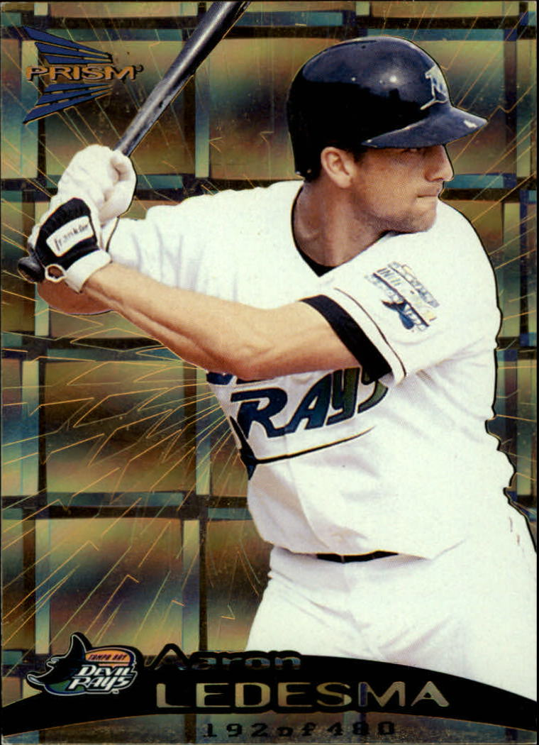 1999 Pacific Prism Holographic Gold #139 Aaron Ledesma