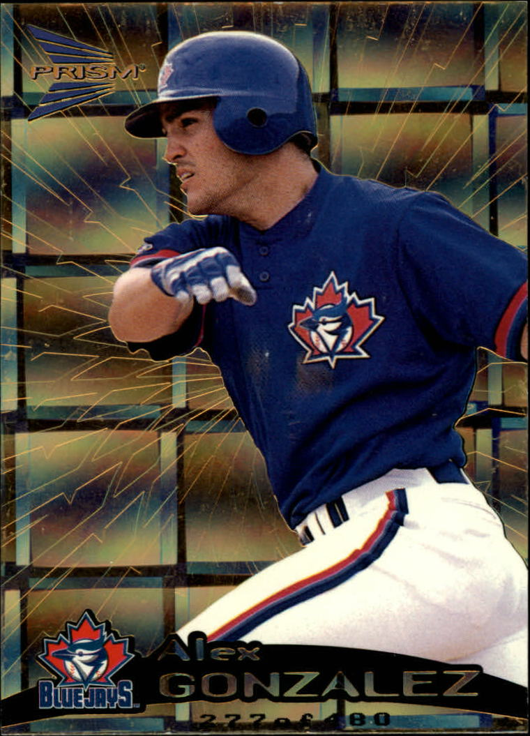 1999 Pacific Prism Holographic Gold #150 Alex Gonzalez