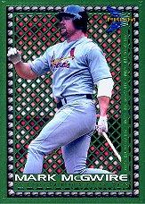 1999 Pacific Prism Ahead of the Game #16 Mark McGwire