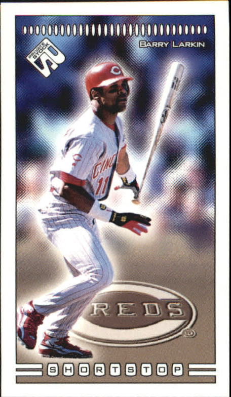 1999 Private Stock PS-206 #110 Barry Larkin
