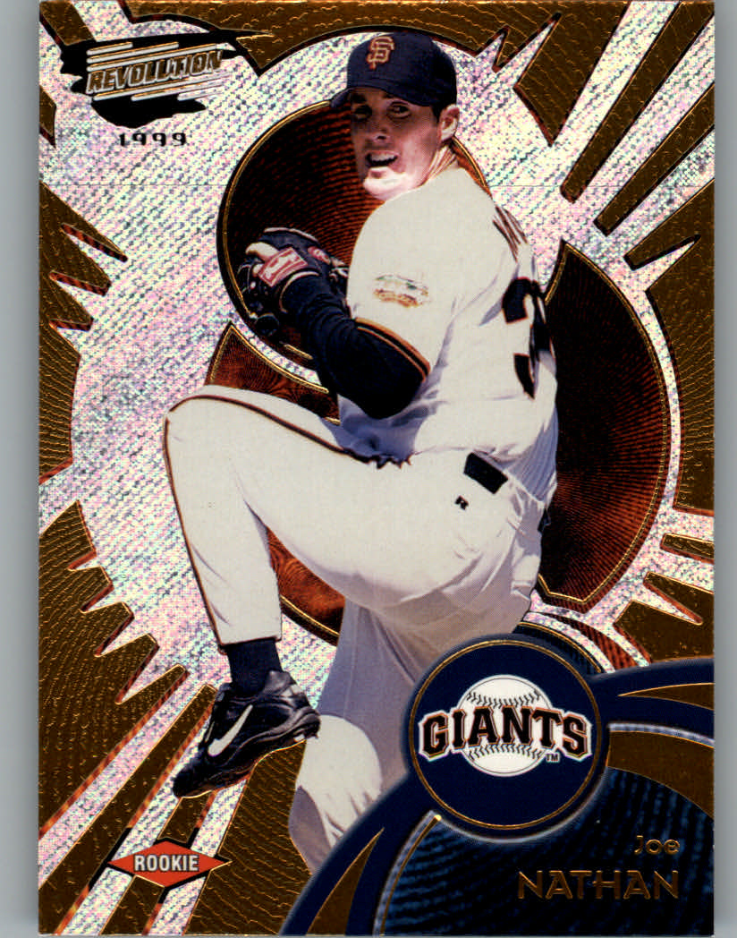 1999 Revolution #128 Joe Nathan SP RC