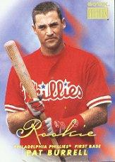 1999 SkyBox Premium #248 Pat Burrell RC