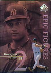 1999 SP Authentic Epic Figures #E18 Derek Jeter