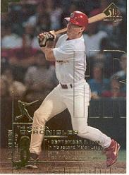 1999 SP Authentic Home Run Chronicles #HR37 J.D. Drew