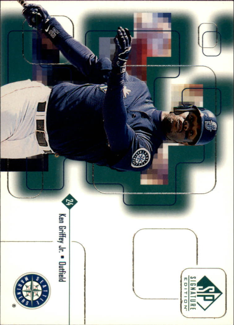 1999 SP Signature #2 Ken Griffey Jr.