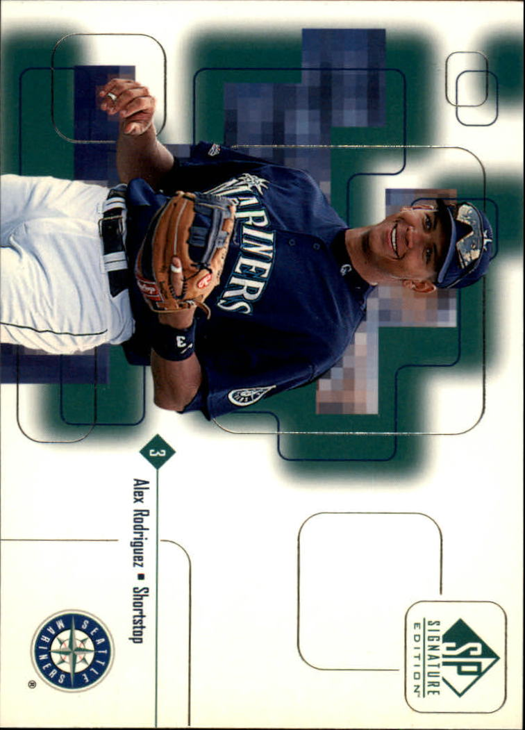 1999 SP Signature #4 Alex Rodriguez