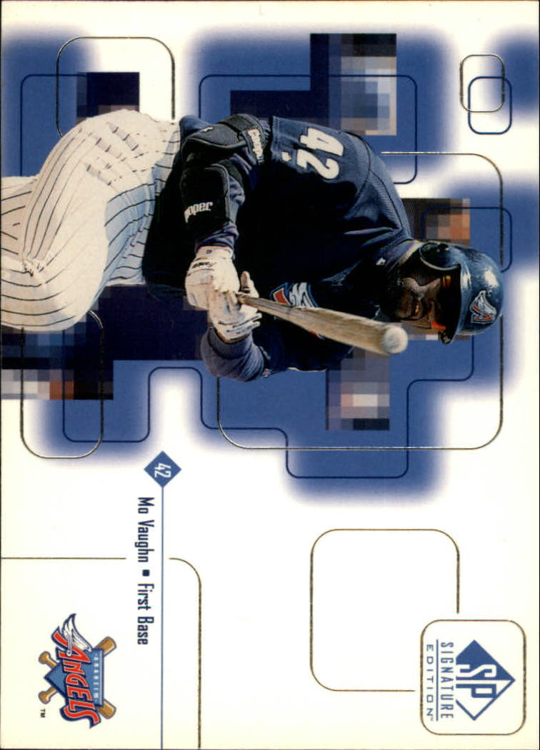 1999 SP Signature #6 Mo Vaughn