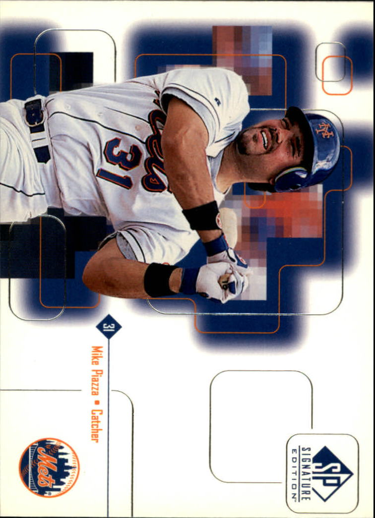 1999 SP Signature #11 Mike Piazza