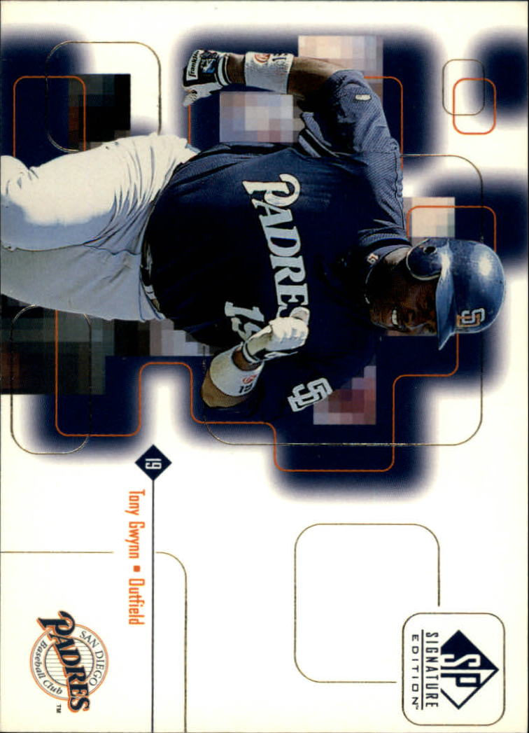 1999 SP Signature #13 Tony Gwynn