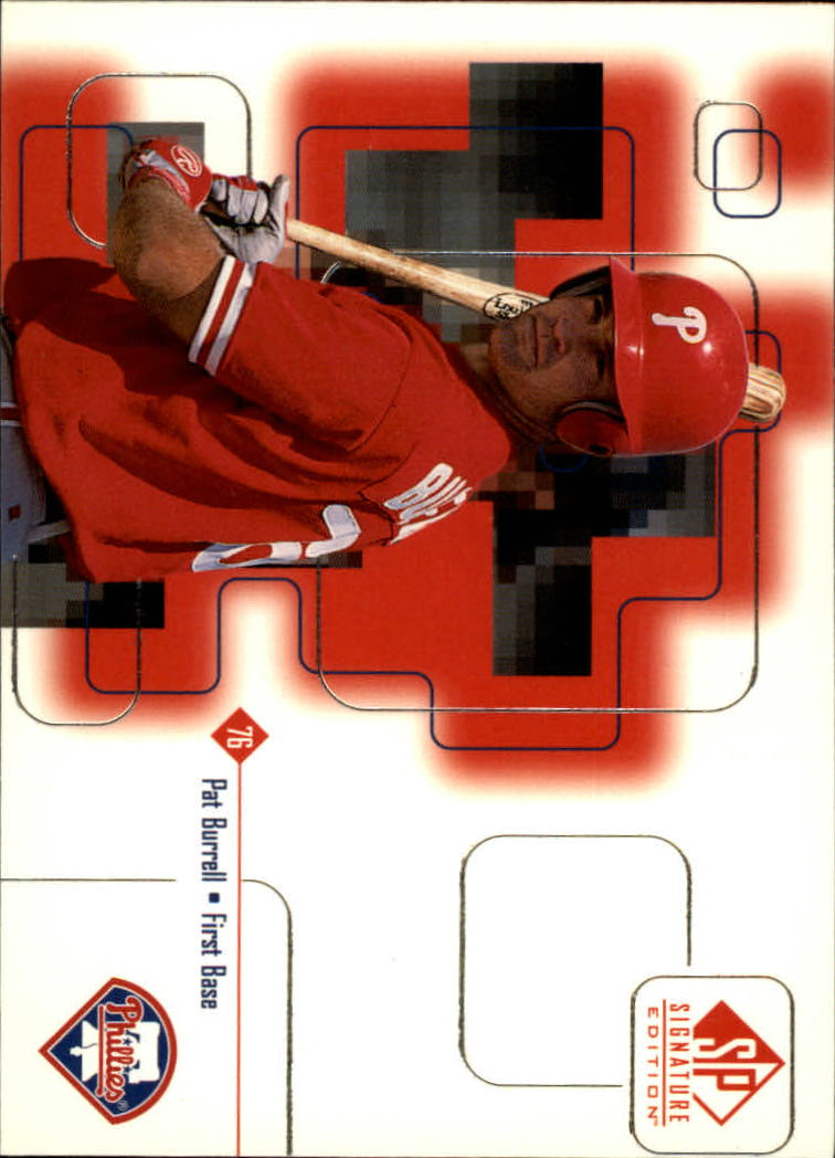 1999 SP Signature #15 Pat Burrell RC