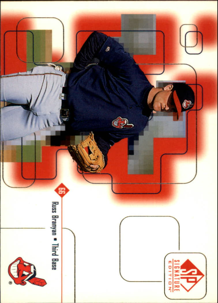 1999 SP Signature #18 Russ Branyan